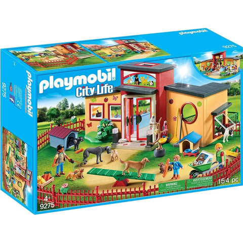 PLAYMOBIL Tiny Paws Pet Hotel 9275