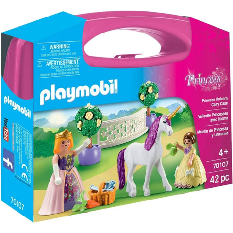 Playmobil Princess Unicorn Carry Case 70107