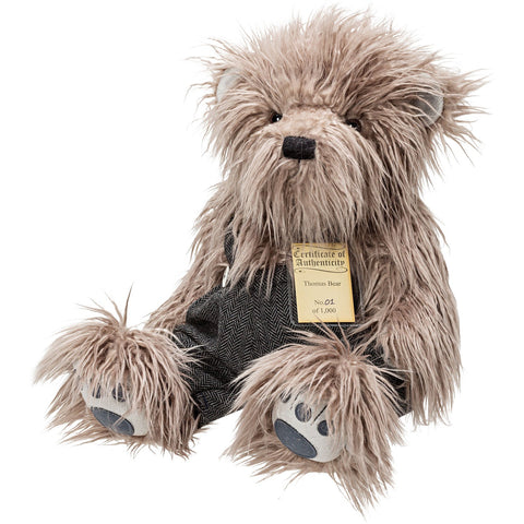 SUKI Limited Edition Collectible Silver Tag® Bear THOMAS