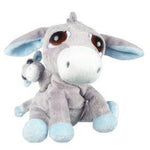 Suki Li'l Peepers Plush Pablo Blue Mommy & Baby Donkey