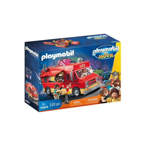 PLAYMOBIL: THE MOVIE Del's Food Truck 70075