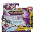 TRANSFORMERS Bumblebee Cyberverse Adventures 1-Step Changer AUTOBOT RATCHET