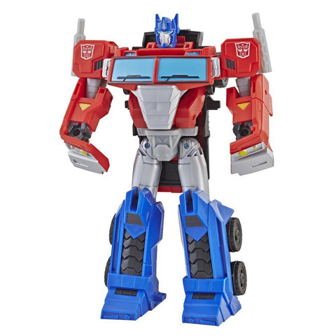 TRANSFORMERS Cyberverse Ultra Class Optimus Prime Action Figure