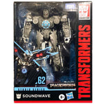 TRANSFORMERS Studio Series 62 Deluxe Class SOUNDWAVE Action Figure