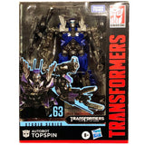 TRANSFORMERS Studio Series 63 Deluxe Class AUTOBOT TOPSPIN Action Figure