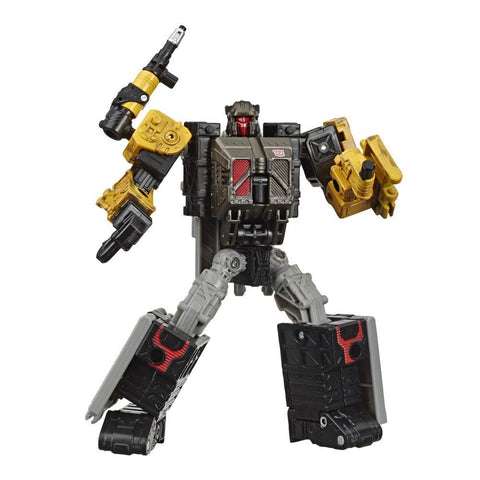 TRANSFORMERS Generations War for Cybertron: Earthrise Deluxe Ironworks Modulator Figure