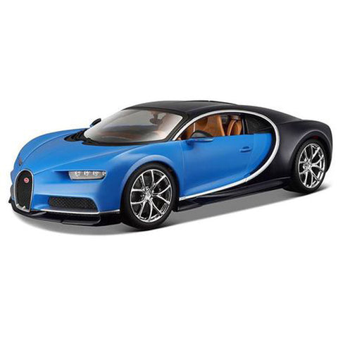 MAISTO 1:24 Scale Die-Cast Special Edition Bugatti Chiron in Blue