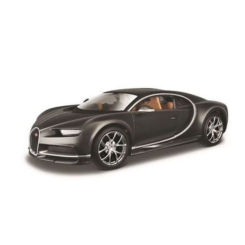 MAISTO 1:24 Scale Die-Cast Special Edition Bugatti Chiron in Grey