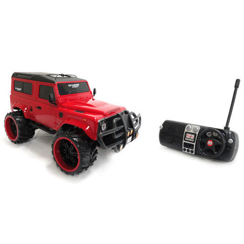 MAISTO Tech R/C Off-Road Series Land Rover Defender Red