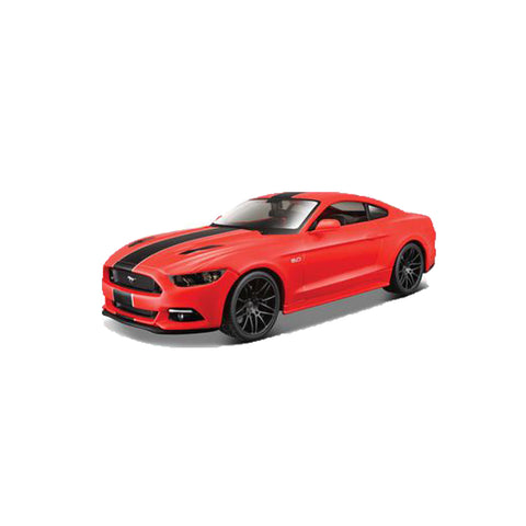 MAISTO Design Ed 1:24 Die-Cast 2015 Ford Mustang GT in Red