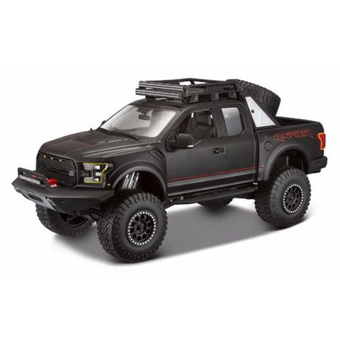 MAISTO Design Ed 1:24 Die-Cast 2017 Ford F-150 Raptor in Black