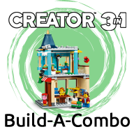 Add 3 or more LEGO CREATOR sets with a minimum value of R1000 and SAVE!
