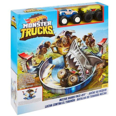 Hot Wheels - Arena Monster Trucks Mecha Shark Face