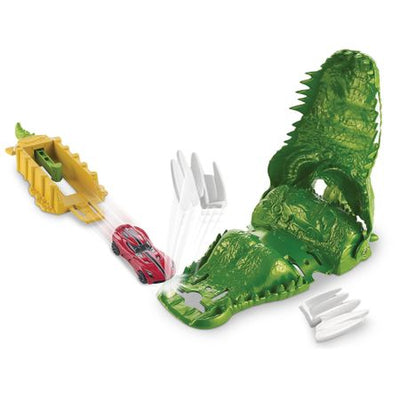 Hot Wheels - Lansator de masini - Muscatura Crocodilului