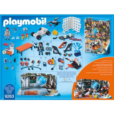 Playmobil - Calendarul Advent - Spionul secret