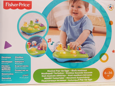 Fisher-Price - Jucarie interactiva - Oua muzicale