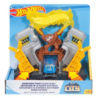 Hot Wheels - Centrala Electrica