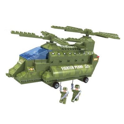 Set constructie - ARMY - Elicopter