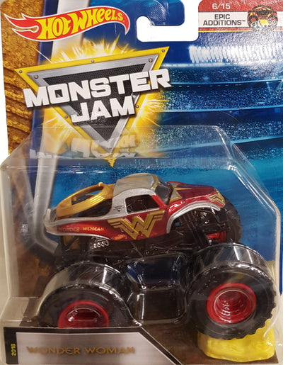 Hot Wheels Monster Jam - WONDER WOMAN