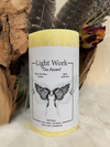 light work, angels, upper world, shamanic, spirit, spirit guides, candle magick, journey, love, light, love and light