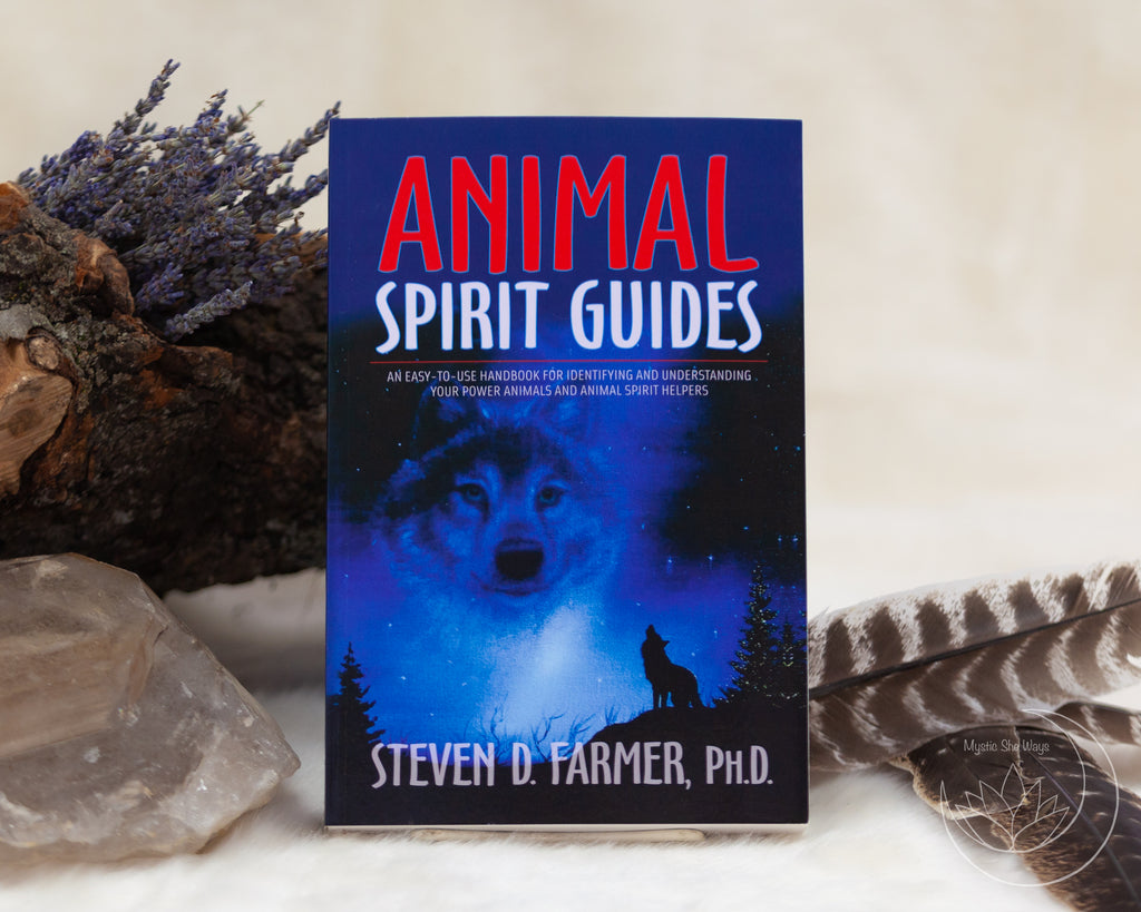 book, animal spirit guides, steven farmer, chakras, healing, love, new age, metaphysical