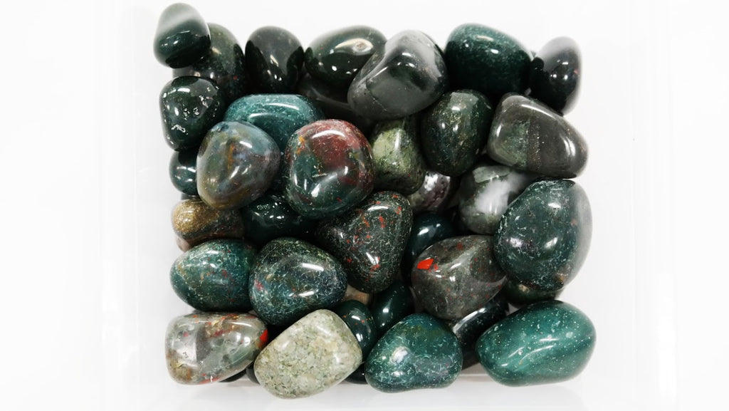 Bloodstone Crystal Tumbled 1""