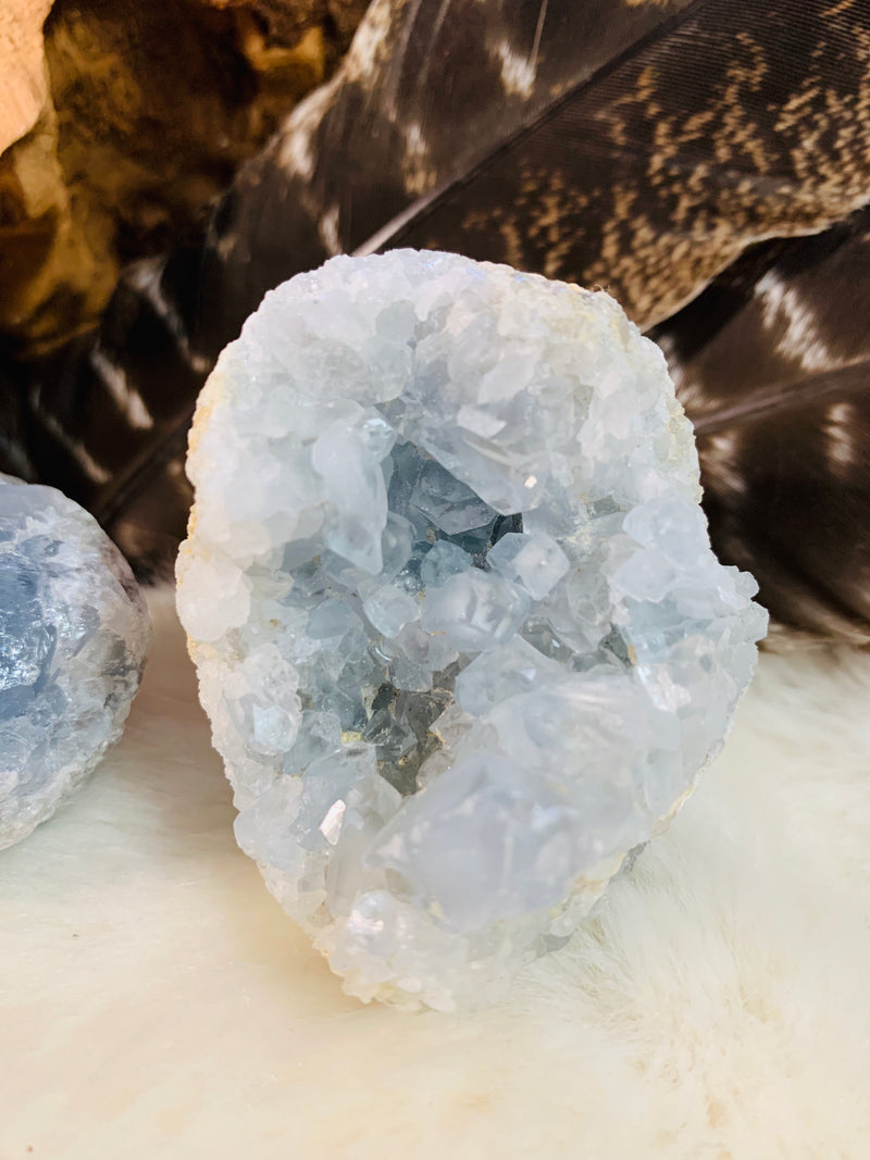 celestite, crystals, tourmalinated quartz, crystals, witch store, metaphysical store, ghidrahs, ghidrah's, adrian, lenawee, michigan, ypsilanti, ann arbor, jackson, saline, stones, crystal healing, witch, witchcraft, magic