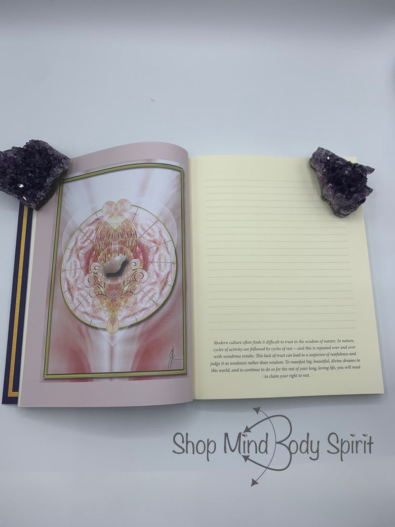 Healing, Journal, Writing, Love, Creativity, Mindfulness, Drawing, Inspiration, Quotes, Sacred Space, Crystals, Crystal Mandala, Crystal