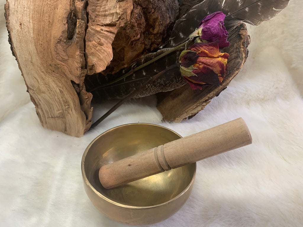 Handmade Tibetan Singing Bowl 6""