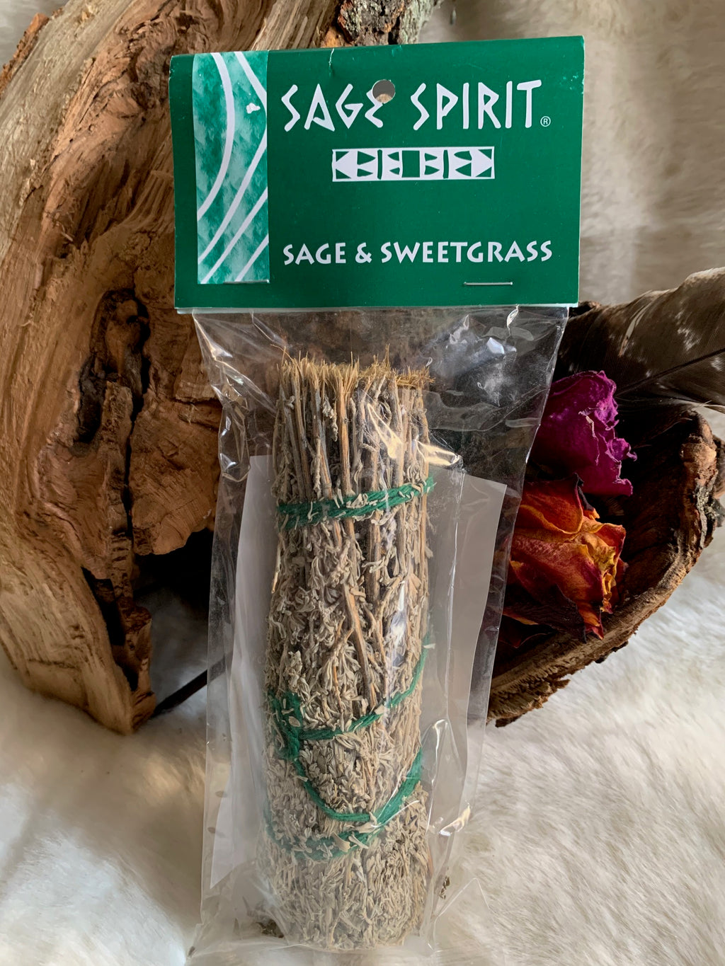 Using sage is a great way to cleanse and rid yourself of negative energies. This bundle is coupled with sweetgrass which is a great way to get in touch with ancestors and provides a gentle loving energy in your space.