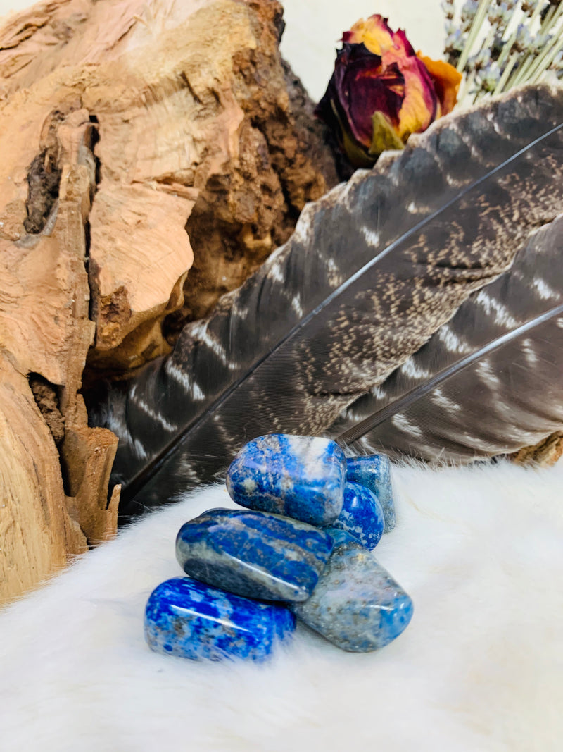 lapis lazuli crystal, lapis stone, throat chakra stone, blue stone, protection stone, witch stone, crystal, crystal, healing, reduce stress, witches, tarot, tarot reading, polished, ADRIAN, MICHIGAN, LENAWEE COUNTY, YPSILANTI, ANN ARBOR, METAPHYSICAL STORE, YOGA CLASSES, WITCH STORE