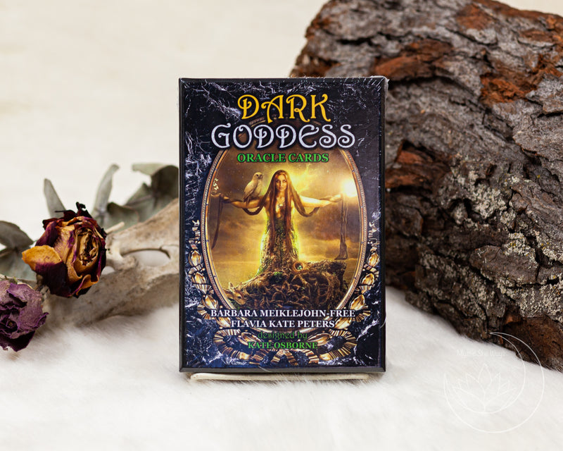 Dark Goddess Oracle Deck  by Barbara Meiklejohn-Free, Flavia Kate Peters, Kate Osborne