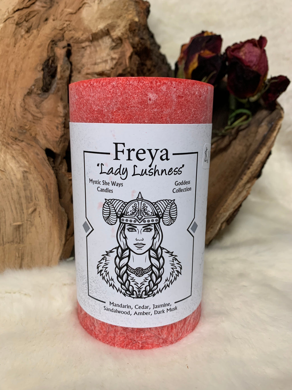 Freya Candle: Goddess Collection