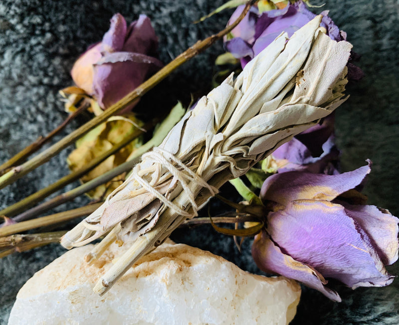 Healing, Smudge, Sage, White Sage, Love, Divination, Cleansing, Clearing, Spirit