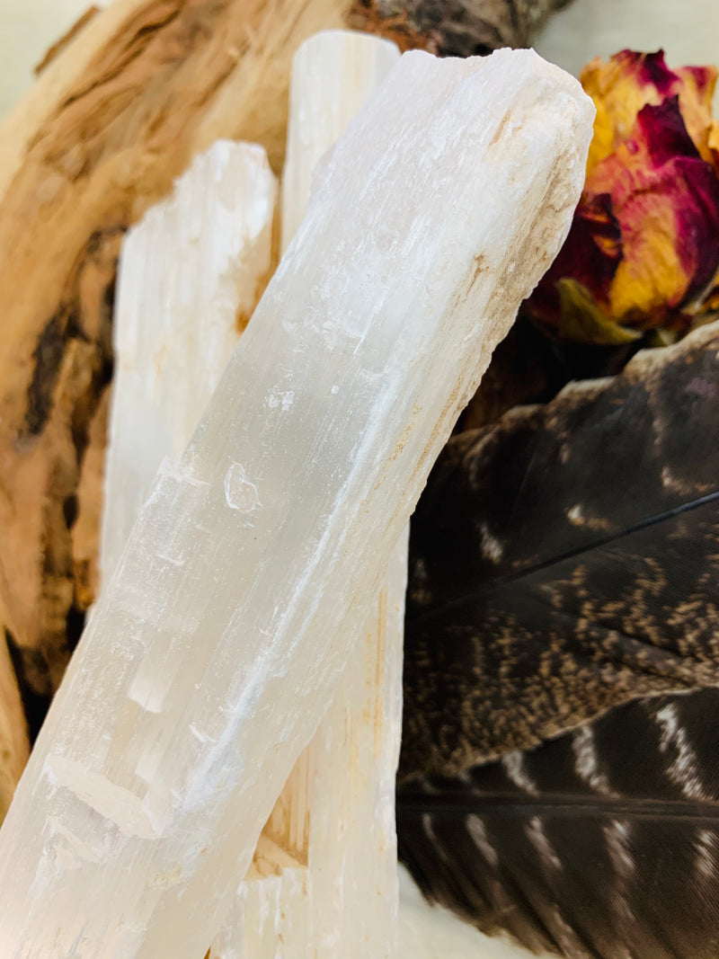 selenite crystal, selenite stone, cleansing crystal, protection stone, energy shield stone, witch stone, crystal, crystal, healing, reduce stress, witches, tarot, tarot reading, selenite, adrian, michigan, lenawee county