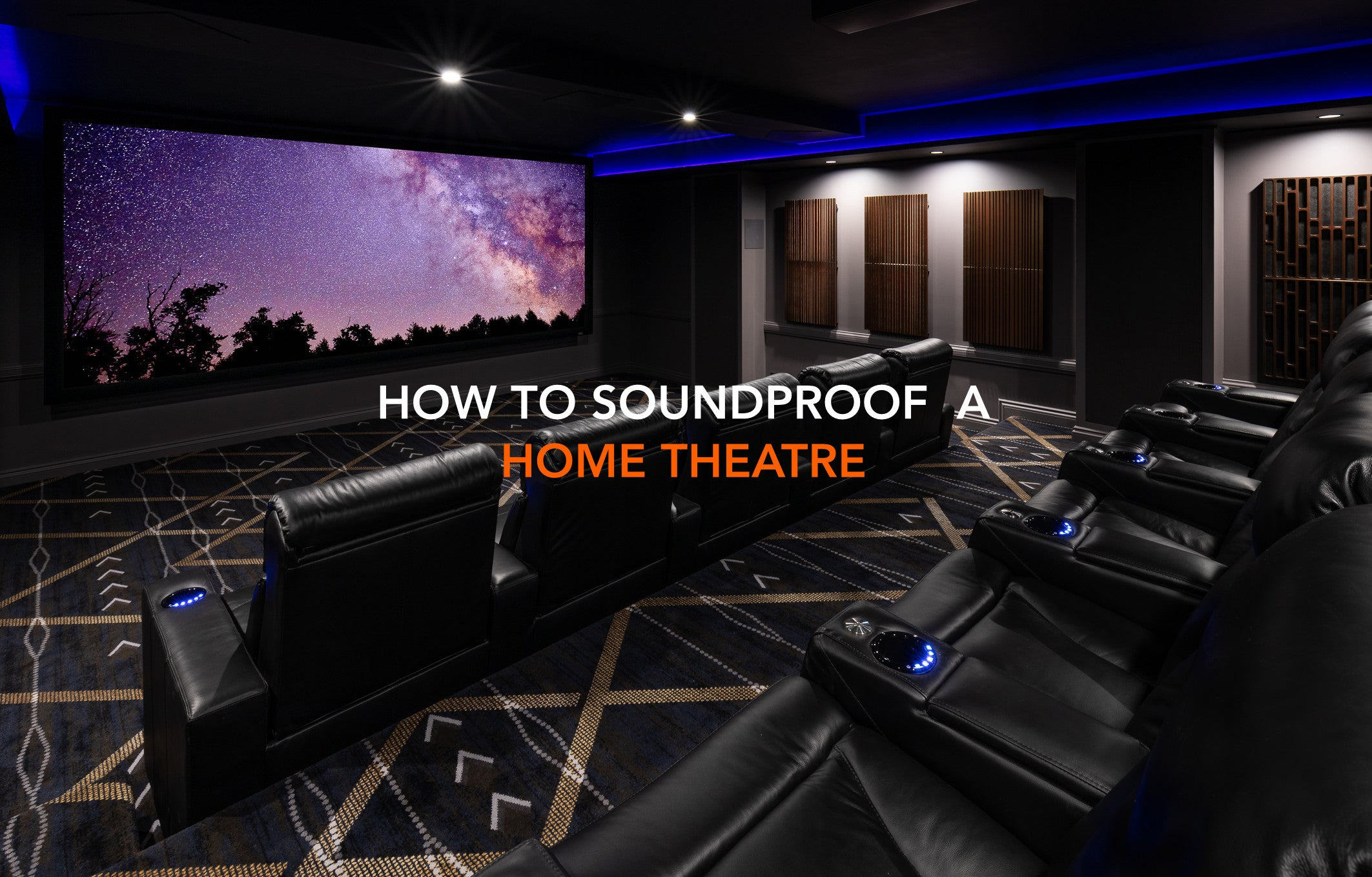 Soundproofing a Home Theatre