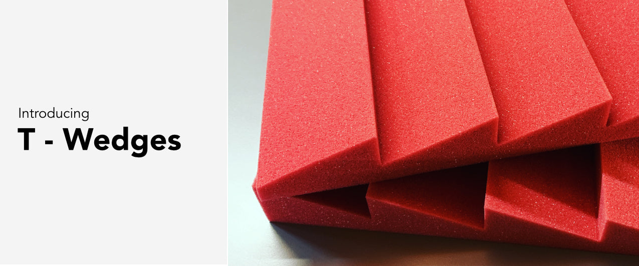 T-Wedge Acoustic Foam
