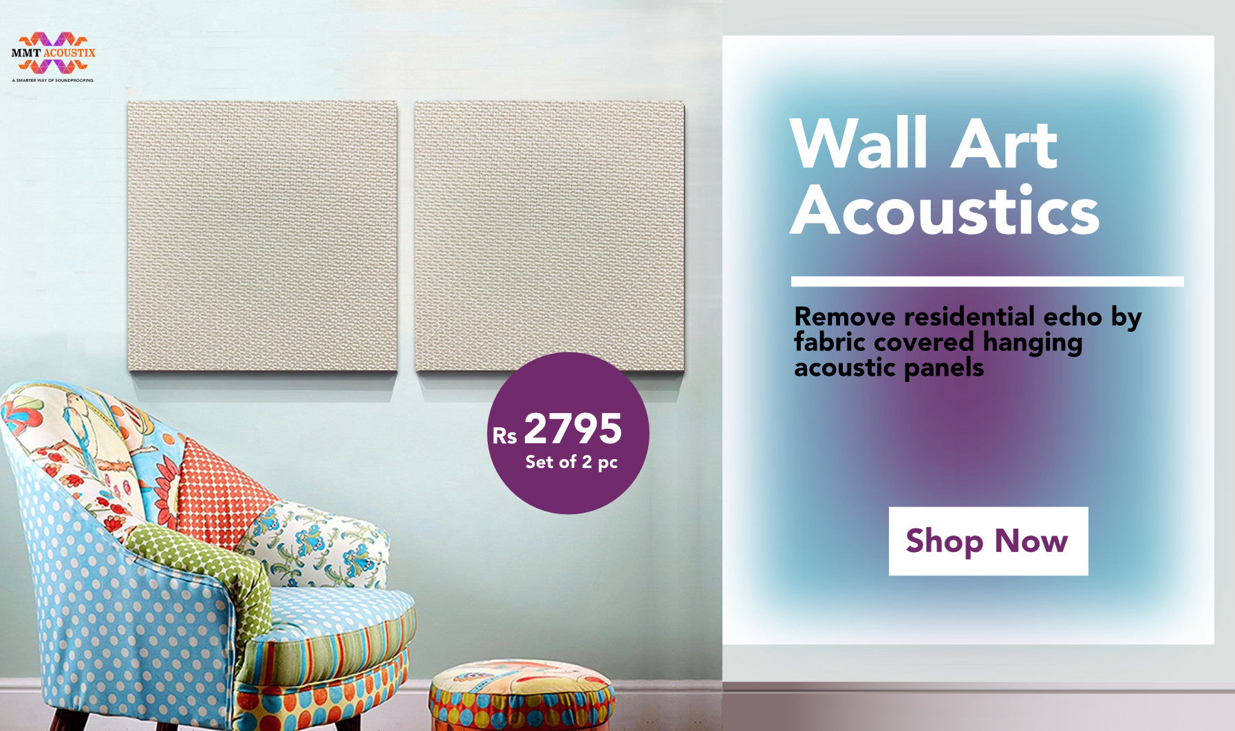Acoustic Foam Panel India | Soundproofing Noise Reduction