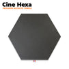 Cine Hexa Acoustic Foam Panel | Studio & Home Theatre acoustic panel for soundproofing | Charcoal Color | Set of 1 pcs