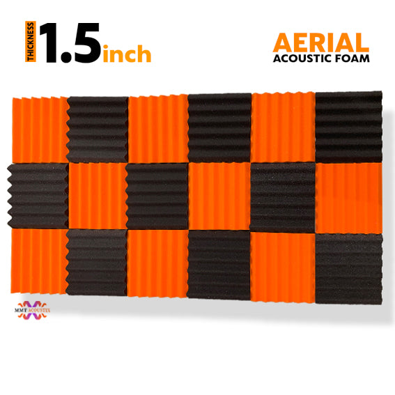 Aerial Acoustic Foam 1x1 Ft | Set Of 18 Pcs