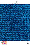 Acoustic Carpet Tiles - Blue