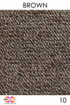Acoustic Carpet Tiles - Brown