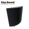 MMT Acoustix®️ Cine Round Acoustic foam Panel | Wall Bass Absorber | Studio & Home Theatre soundproofing & noise absorption | Charcoal Color | Set of 1 pcs