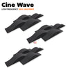 MMT Acoustix® Cine Wave Acoustic Panel | Studio & Home Theatre designer acoustic panel for soundproofing | Charcoal Color | Set of 12 pcs