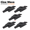 MMT Acoustix® Cine Wave Acoustic Panel | Studio & Home Theatre designer acoustic panel for soundproofing | Charcoal Color | Set of 20 pcs