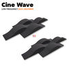 MMT Acoustix® Cine Wave Acoustic Panel | Studio & Home Theatre designer acoustic panel for soundproofing | Charcoal Color | Set of 8 pcs