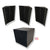 MMT Acoustix Bass Trap Corner Set (3 Bass Trap + 1 Cube)