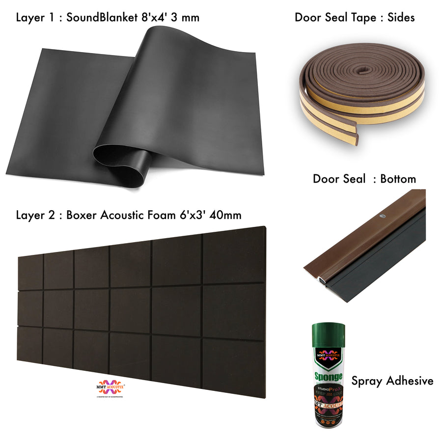 Sound Proof Door Kit