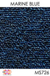 Acoustic Carpet Tiles - Marine Blue