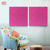 "FabAxe Fabric Acoustic Panel 2'x2'x1"", (Pink Accent)"